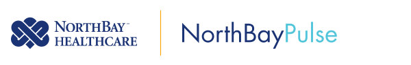 The NorthBay Healthcare logo appears on the left, with the title of our newsletter 'NorthBayPulse' on the right.