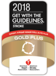 2018 Get with the guidelines Gold Plus accreditation