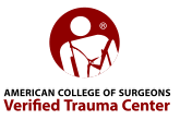 Level II Trauma Center verified by the American College of Surgeons. Click here to learn more about this verification.