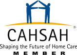 Logo for California Association for Health Services at Home.