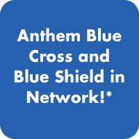 Anthem Blue Cross and Blue Shield back in network!