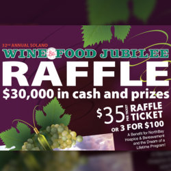 $30,000 in cash and prizes, $35 a ticket.
