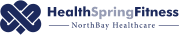HealthSpring Fitness logo in a horizontal format.