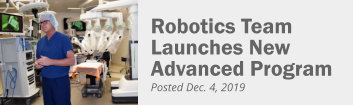 Robotics program launches