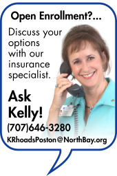 Image of our insurance specialist, Kelly Rhoads-Poston. Discuss your options for Open Enrollment with her today!