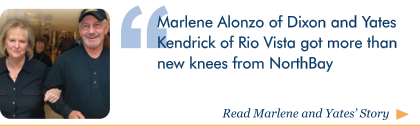 Click here to read Marlene and Yates' story, Four Knees and a Friendship, on Wellspring