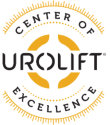 Logo for the Urolift Center of Excellence