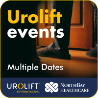 Urolift event, multiple dates. See when the next event will be below.