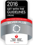 2016 Get with the guidelines Silver Plus accreditation