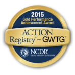 2015 ACTION Registry-GWTG Performance Achievement Award. Click here to learn more about this award our Heart and Vascular Center received.