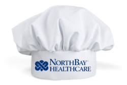 chef hat with logo