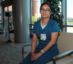Dora Barcenas, C.N.A., is among the nurses featured in a Nurses Week special section in the Daily Republic.