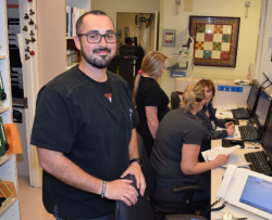 Jonathan Munoz, C.N.A., is among the nurses featured in a Nurses Week special section in the Daily Republic.