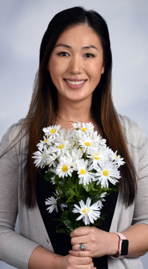 Nurse Tiffany Song, R.N. is one of two new DAISY nurses honored at NorthBay.