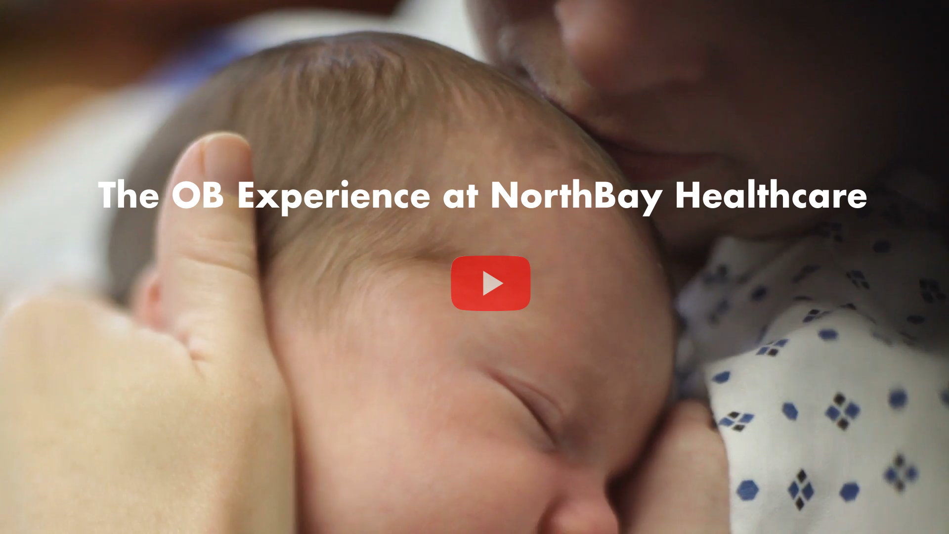See what it's like to have a baby at NorthBay.