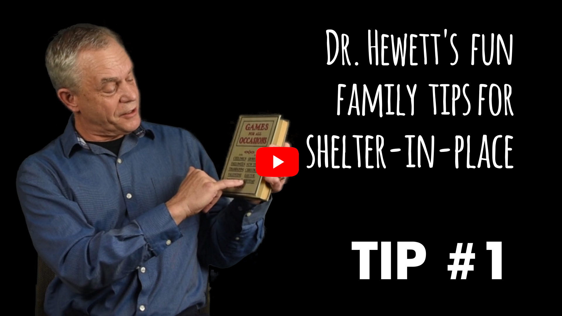 "Pediatrician Bruce Hewett offers a tip for making the most out of sheltering at home: ""Game of Cat"""