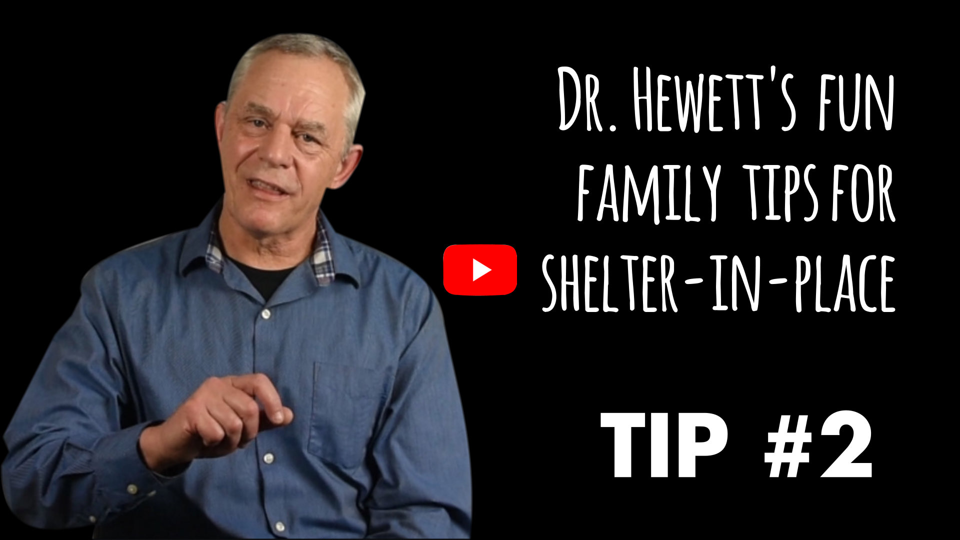 Dr Hewett's Family Tip #2 for Sheltering at Home: Family Contract