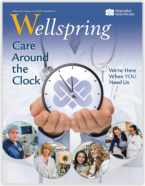 Click here to read our most recent Wellspring.