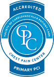 Chest Pain Center with PCI accreditation from the American Association of Cardiovascular and Pulmonary Rehabilitation (AACVPR). Click here to learn more about this accreditation our Heart and Vascular Center received.