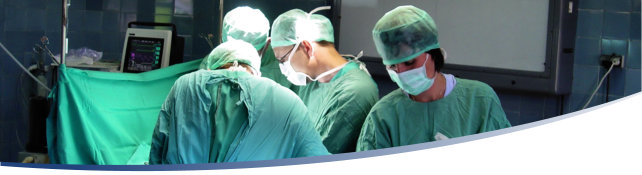 Large surgery banner
