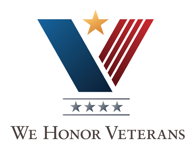 We Honor Veterans 4 start accredidation logo